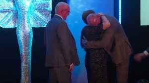 Gareth Thomas in tears as parents surprise him [Video]
