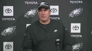 Eagles Head Coach Doug Pederson Addresses Media Ahead Of Monday Night's Game Against Giants [Video]