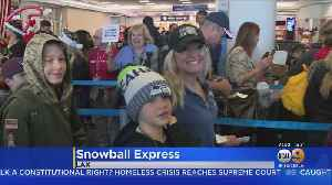 Military Families Board 'Snowball Express' At LAX [Video]