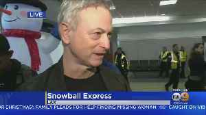 Gary Sinise Discusses 'Snowball Express' Initiative To Help Military Families [Video]