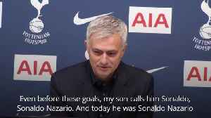 Jose Mourinho dubs Son Heung-min 'Sonaldo' [Video]
