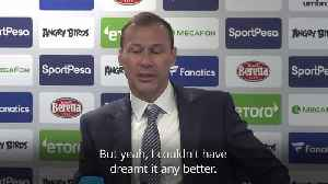 News video: Everton caretaker manager Ferguson emotional after win over Chelsea