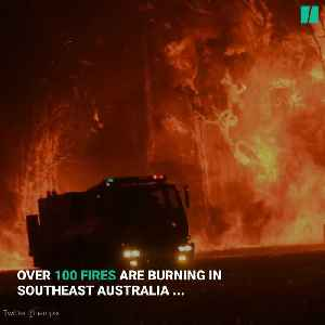Canadian Firefighters Head To Australia [Video]