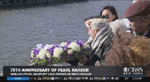 Veterans Mark 78th Anniversary Of Pearl Harbor Attack [Video]