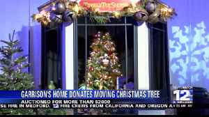 Garrison's Home builds moving Christmas Tree [Video]