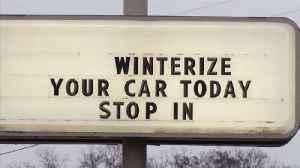 Fort Wayne Jiffy Lube 'Winterizes' Cars [Video]