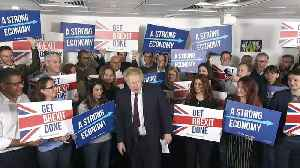 Boris Johnson gives rousing speech for 'final furlong' [Video]
