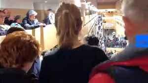 Swedish activist Greta Thunberg visits COP25 counter-summit in Madrid [Video]