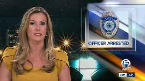 West Palm Beach police officer arrested for DUI [Video]