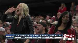 Sooners Beat Baylor in OT [Video]