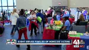 Christmas event helps children of homicide victims [Video]