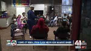 Conflict resolution class helps children manage anger [Video]