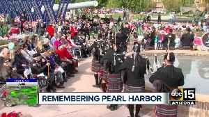 Ceremony honors fallen veterans, survivors of Pearl Harbor attack [Video]