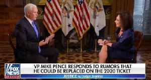 Mike Pence: It's a great honor to be on Trump 2020 ticket [Video]