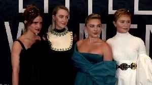 "The cast of ""Little Women"" celebrate world premiere in New York [Video]"