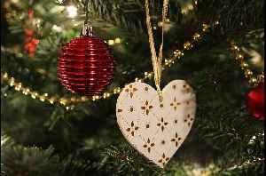 McCarran Airport lights holiday tree [Video]