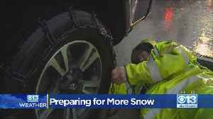 Road Crews Are Preparing For More Snow [Video]