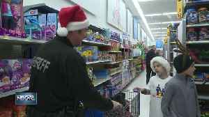 News video: More than 160 local kids Shop with a Cop for Christmas