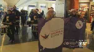 Families Of Fallen Soldiers Get Pep Rally Send Off At DFW Airport To Disney World [Video]