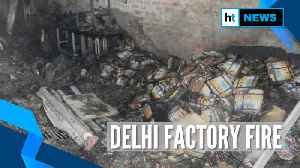 Over 40 killed after massive fire in Delhi's Anaj Mandi, NDRF joins rescue operations [Video]