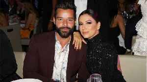 Eva Longoria And Ricky Martin's Holiday Plans [Video]