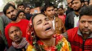 New Delhi factory fire: Dozens of workers sleeping inside killed [Video]