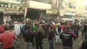 Dozens dead in factory fire in New Delhi [Video]