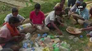 Forest dept reuses waste plastic bottles to plant, grow saplings in Chhattisgarh Balrampur [Video]