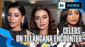 News video: Celebs Dia Mirza, Daisy Shah react to encounter of Telangana rape accused