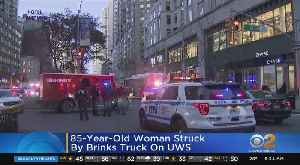 85-Year-Old Woman Struck By Brink's Truck On UWS [Video]