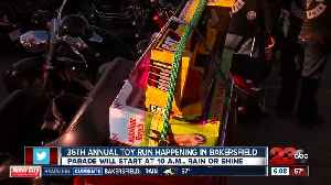 36th annual Bakersfield Toy Run to hit the streets of Bakersfield [Video]