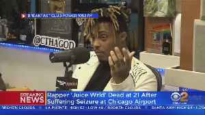 TMZ: Rapper 'Juice Wrld' Dead At 21 After Suffering Seizure At Chicago Airport [Video]