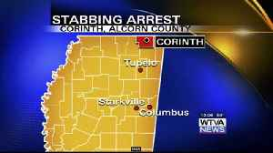 Report: Stabbing arrest made in Corinth [Video]