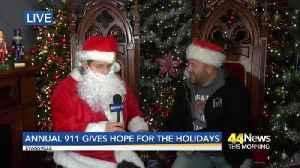 TYLER Santa LIVE on the set [Video]