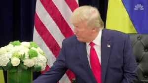 President Trump celebrates economy as impeachment looms [Video]