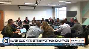 Safety board writes letter supporting school officers [Video]
