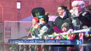 Hundreds crowd downtown Lafayette for the Very Merry Main Street Christmas Parade [Video]