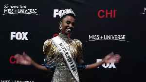 South Africa's Zozibini Tunzi crowned Miss Universe 2019 [Video]