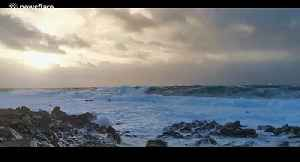 Large waves seen off coast of Tory Island as storm Atiyah hits Ireland [Video]