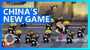 China makes propaganda game that lets you hit HK protesters [Video]