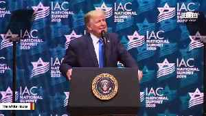 Ocasio-Cortez Slams Trump's 'Atrocious Antisemitism' During Speech To Jewish Voters [Video]