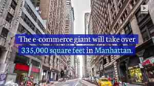 Amazon to Lease Office Space in New York City [Video]