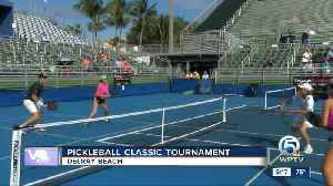 Pickleball classic tournament held in Delray Beach [Video]