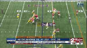 News video: Oklahoma to face #1 LSU in College Football Playoff