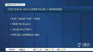 Keeping an eye on older loved ones during the holidays [Video]
