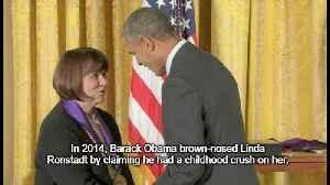 Obama claimed he had childhood crush on leftist singer Linda Ronstadt [Video]