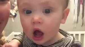 """Baby refuses to say """"mama"""", only says """"da-da"""" [Video]"""