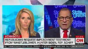 News video: Nadler: I'm Rejecting GOP Requests for Witnesses Like Schiff 'Because They're Irrelevant'