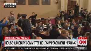 Dems impeachment hearing sees major interruption at Nadler is verbally attacked [Video]