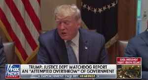 BREAKING: President Trump Responds To Contents In The IG Report [Video]